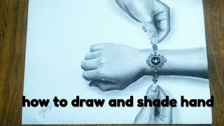 How to draw 3d hands on paper // Drawing hands is easy //  trick art hand