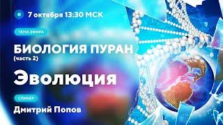 Дмитрий Попов - Биология Пуран Ч.2.  Эволюция