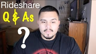 Uber & Lyft Q&As  for the Drivers TIPS and MORE