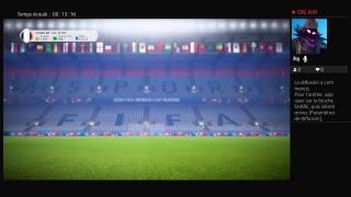 Diffusion PS4 en direct de killeurdu29BZH pack fifa coup du monde 2018
