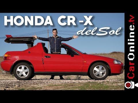 SABIAS que o HONDA CR-X Del Sol tinha uma CAPOTA assim? [Review Portugal]