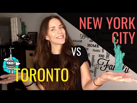 Is TORONTO Canada's NEW YORK CITY?