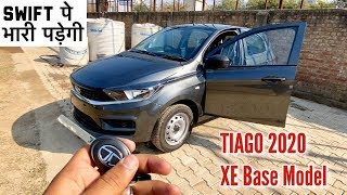 Impressive Yaar! 2020 Tata Tiago XE Base Model BS6 Facelift | Features, OnRoad Price & Review
