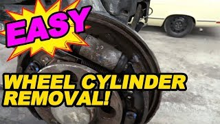 How To Remove Wheel Cylinders Without Removing Shoes
