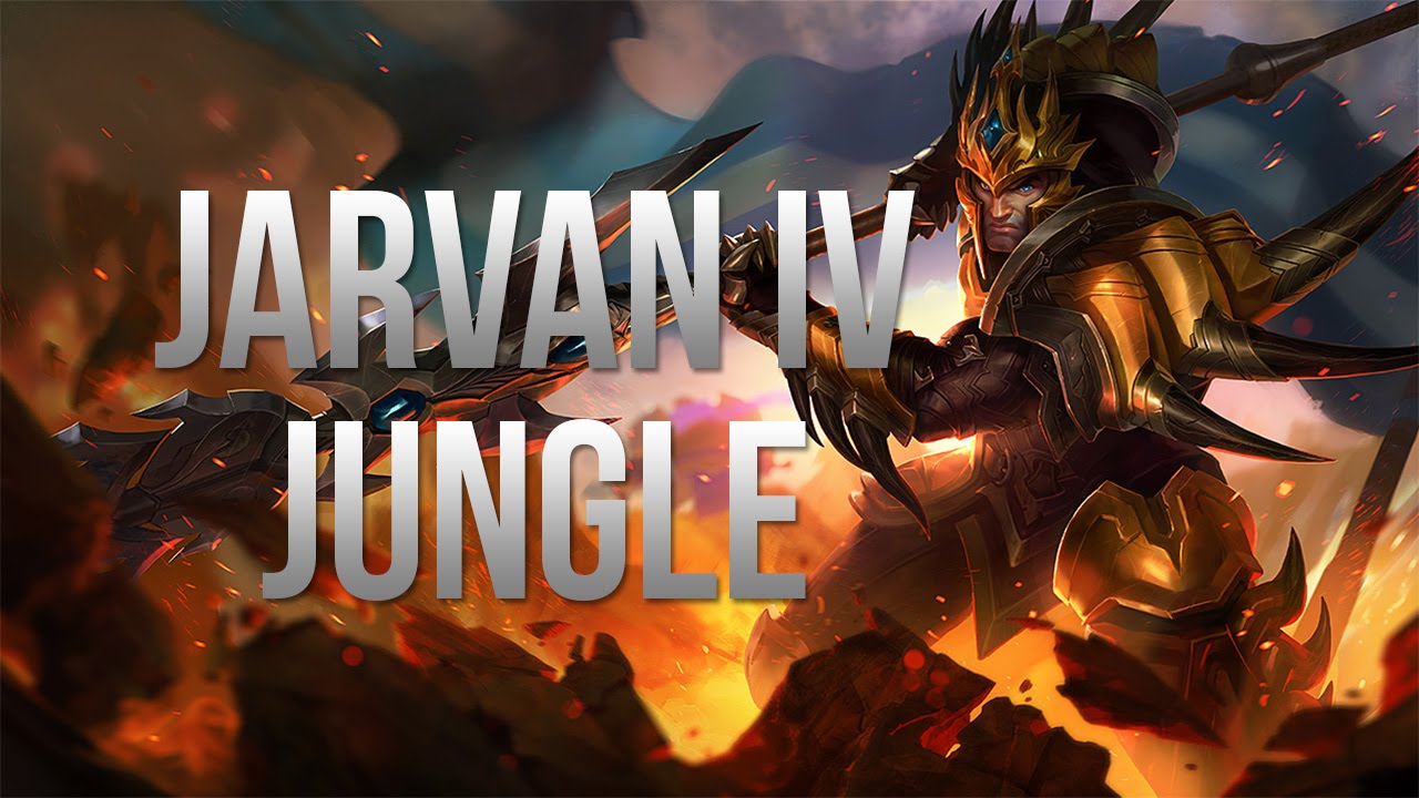 Build Jarvan Iv Jungle