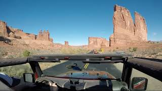 (GoPro) Scenic Drive - Arches National Park