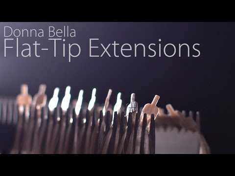 donna bella flat tip hair extensions