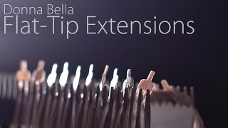 Introducing the New Flat-Tip Hair Extension Method