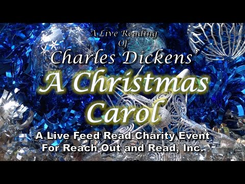 Charles Dickens' A Christmas Carol:  A Live Feed Read Charity Event