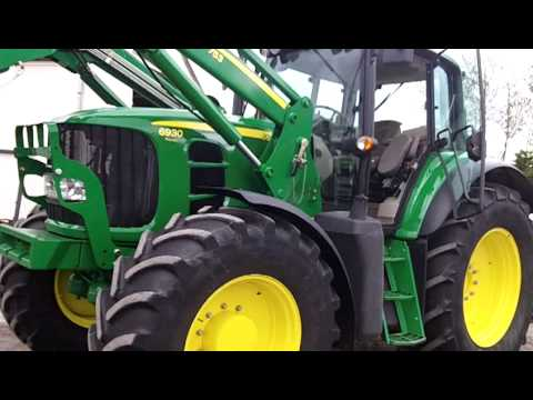 John Deere 650 >> John Deere 6930 with John Deere 753 loader - YouTube