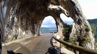 Alps - Verdon Gorge / Europe motorcycle trip part 7