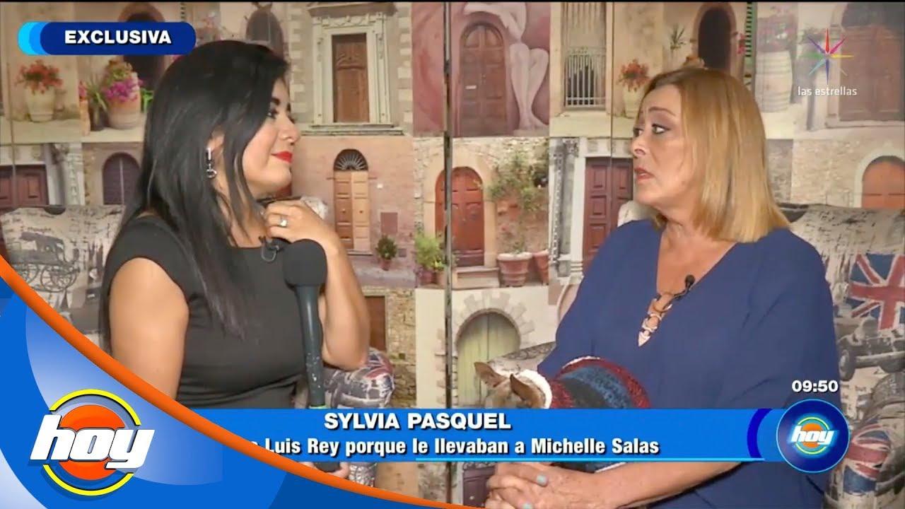Sylvia Pasquel confiesa que Luis Rey convivió con Michelle Salas | Hoy
