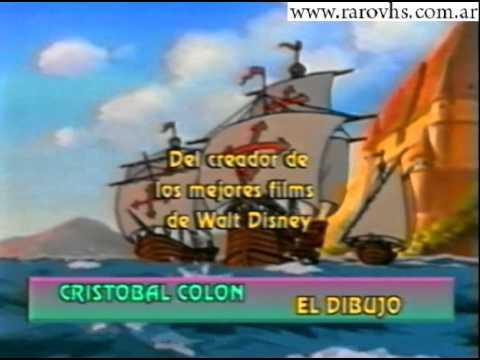 Cristobal Colon El Dibujo Animado Trailer  YouTube