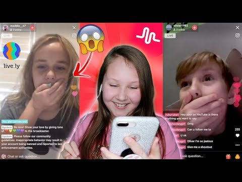See what happened to my fans when I joined their live stream on Musical.ly