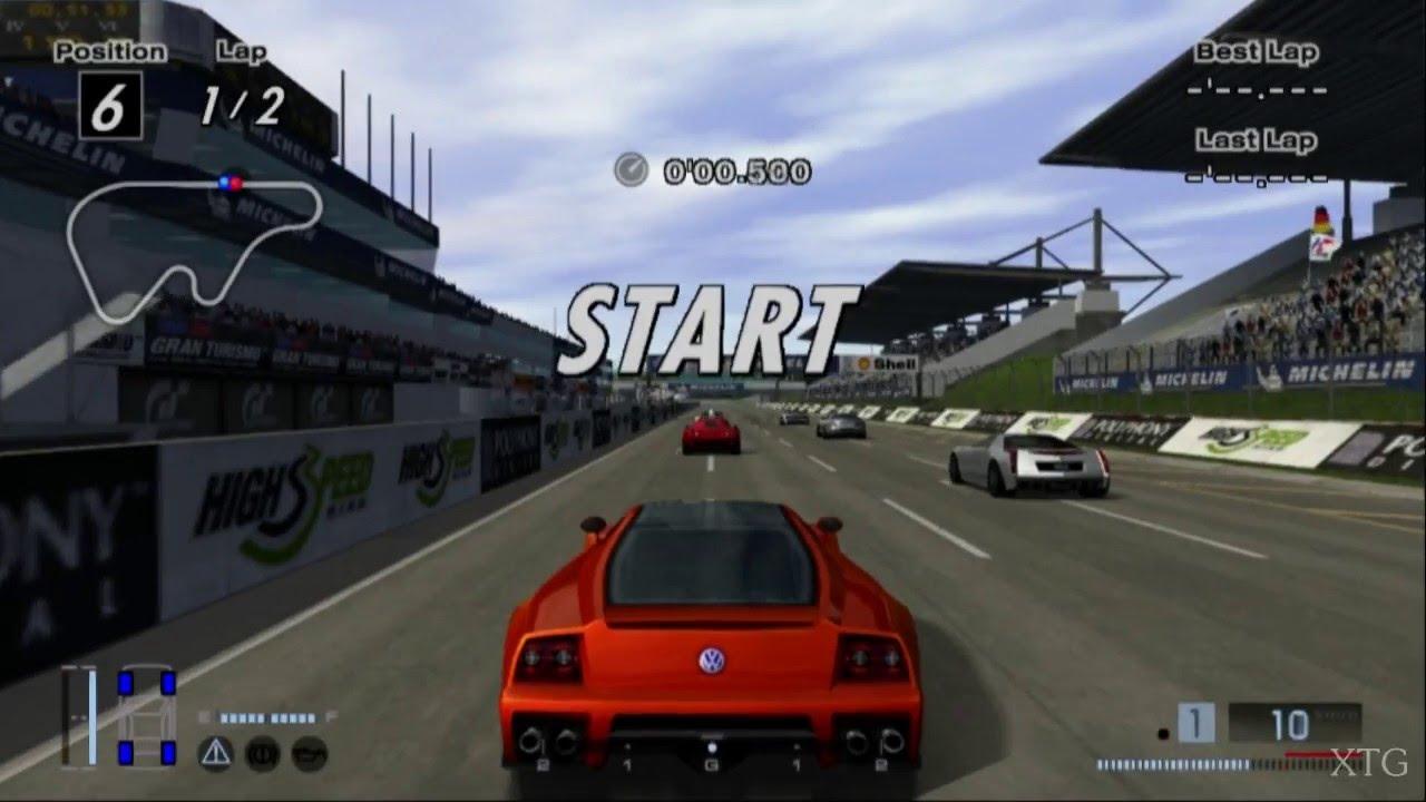 19 Gran Turismo 4 Volkswagen W12 Nardo Concept Hd Ps2 Gameplay Youtube
