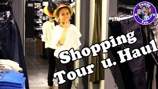 SHOPPING TOUR & HAUL | Klamotten für den Sommer | Shopkick App | FAMILY FUN