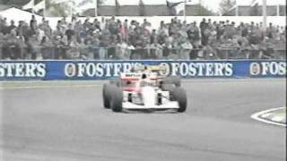 Senna vs Schumacher - 1993 British Grand Prix