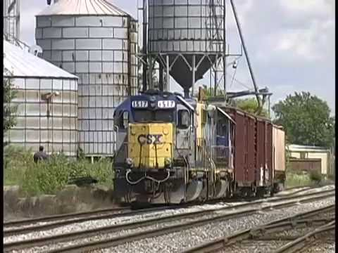 Tour of CSX 1  (Willard, OH. to IN. / OH. State Line)