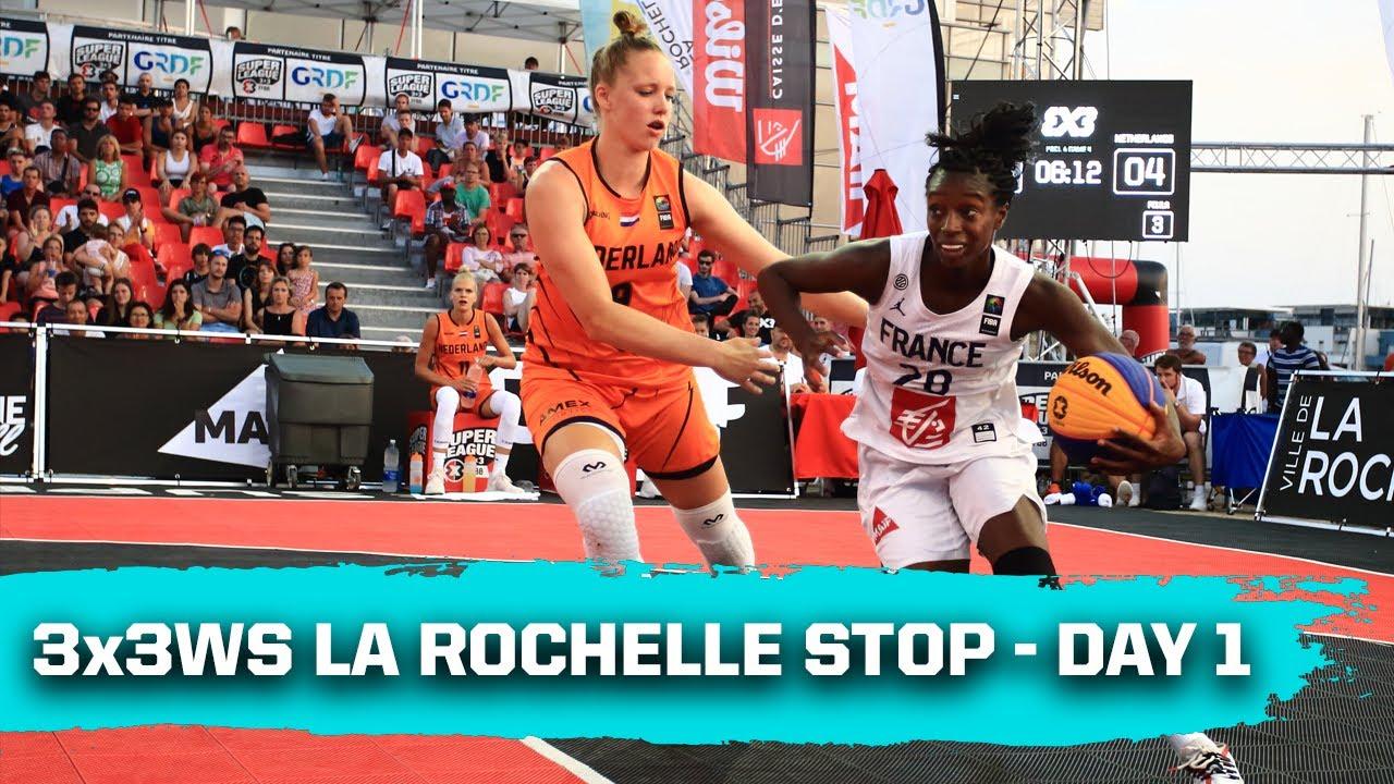 Last 4 World Champions at FIBA 3x3 Women's Series La