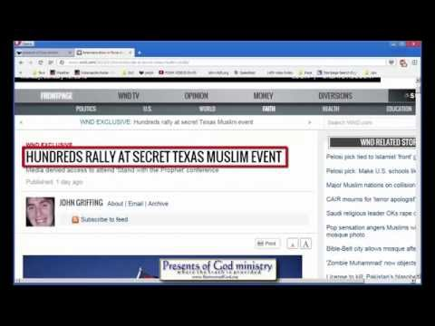 Muslims hold secret meeting in Texas!