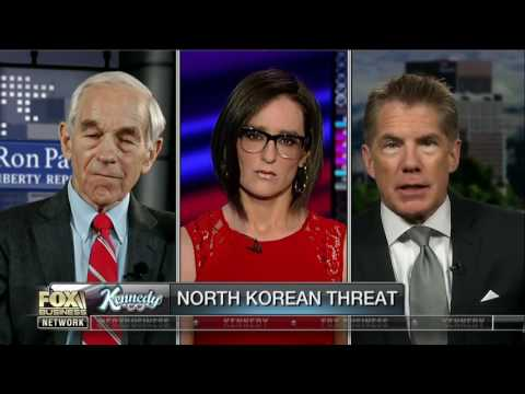 Ron Paul debates former CIA officer on North Korea
