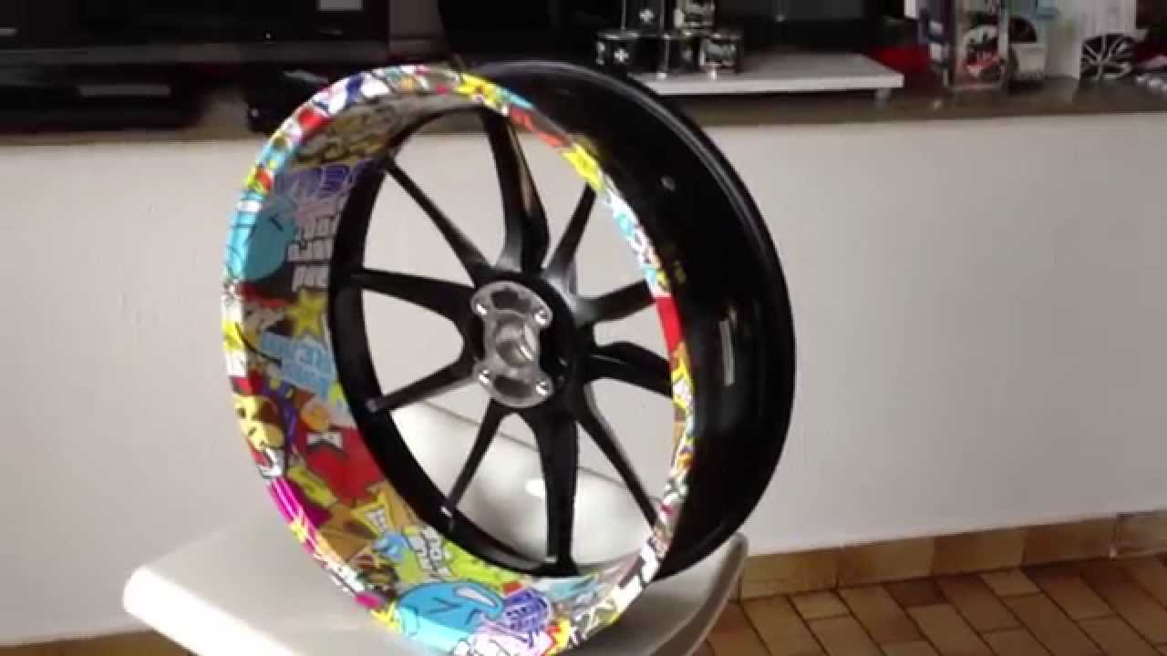 Yamaha Wheel Pattern