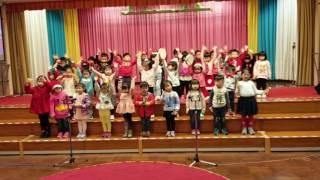 希希參與聖公會救主堂聖誕崇拜表演