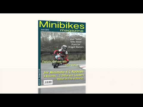 CGI Magazine Cover as Lead-in to Interview in Minibikes Programme