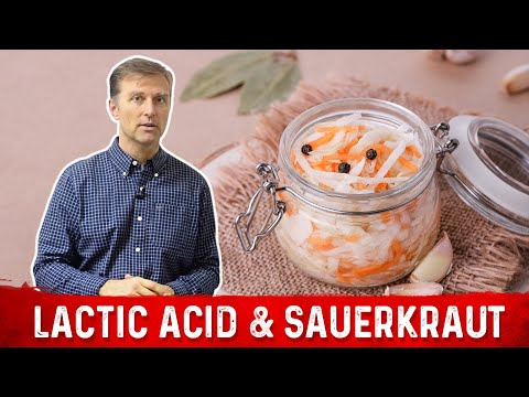Benefits of Lactic Acid From Sauerkraut