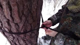 Hamaka v zime