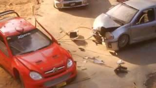 diecast 1/18 car crash