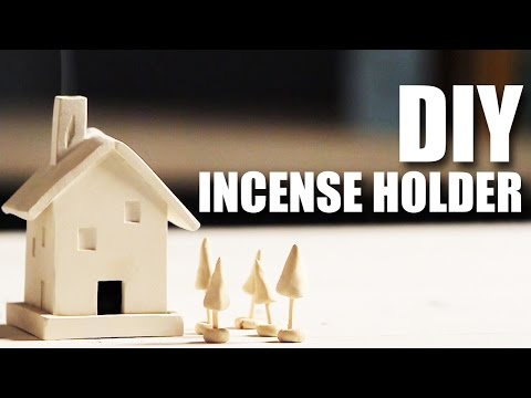 How to make a Incense Holder Cottage   Room Decor DIY   Mad Stuff With Rob