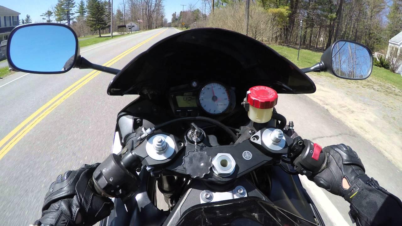 05 Yamaha R6 0-100 Slow Acceleration