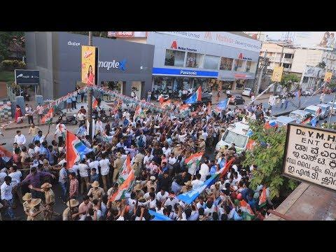 Rahul Gandhi Conducts Road Show in Mangalore  ಕರಾವಳಿಯ ಐತಿಹಾಸಿಕ ಜನಾಶೀರ್ವಾದ ಯಾತ್ರೆಯಲ್ಲಿ ರಾಹುಲ್ ಗಾಂಧಿ.
