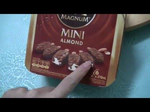Magnum Mini Almond, ASMR