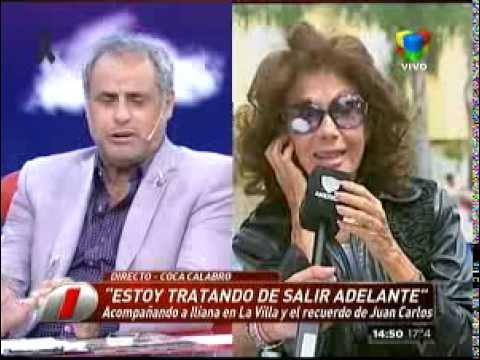 "Coca Calabró: ""Estoy tratando de salir adelante"""