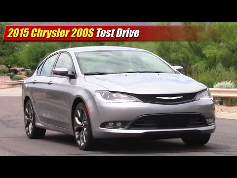 2015 Chrysler 200S Test Drive