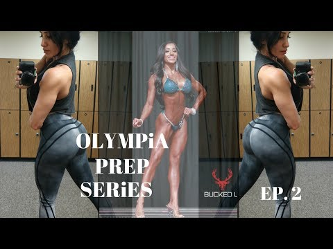 OLYMPIA SERIES EP. 2 | BOOTY & HAMSTRING | MEAL PREPPING