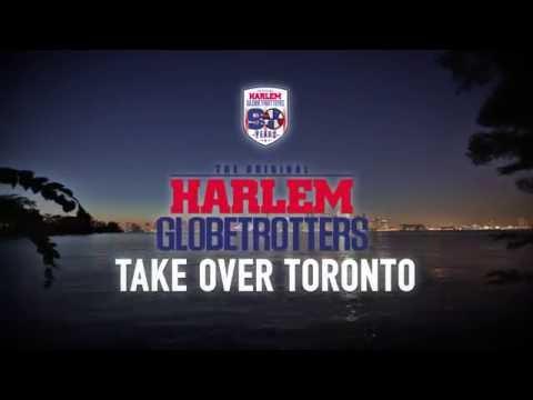 Harlem Globetrotters take over Toronto!