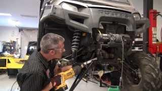 Polaris Ranger front suspension and wheel bearing rebuild, PowerModz!
