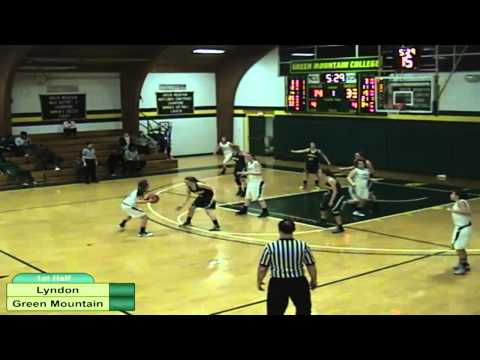 Lyndon State College vs. Green Mountain College Women's Basketball