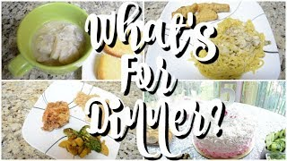 WHAT'S FOR DINNER | EASY DINNER IDEAS | COOK WITH ME | WORKING MOM DINNER IDEAS | AFFORDABLE MEALS