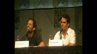 Closest Man of Steel Panel Footage at Comic-Con (2012) Henry Cavill & Zack Snyder- Part 3 of 3
