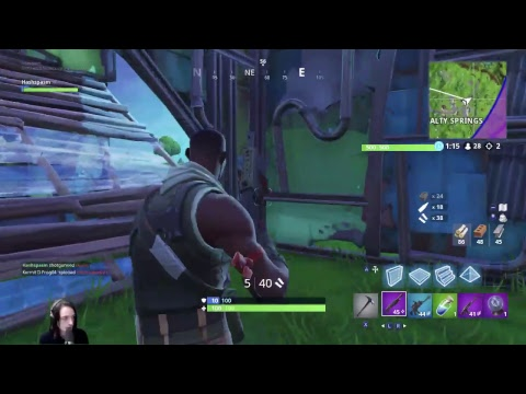 Titanic Sinclair plays Fortnite - This is a live video of Titanic playing Fortnite