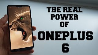 The real power of OnePlus 6 !!!