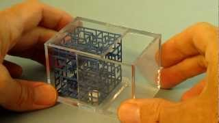 How To Open Bcw Display Case| Cube For 3d Rolling Ball Maze Puzzle Games E.g. Escher's Playground