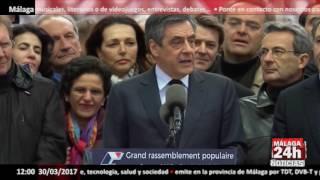"""Fillon: """"los Jueces Nunca Podrán Demostrar Un Empleo Ficticio De Mi Esposa"""" - Málaga 24h Tv"""