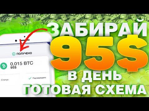 $95 С ТЕЛЕФОНА! ПАССИВНЫЙ ЗАРАБОТОК В ИНТЕРНЕТЕ БЕЗ ВЛОЖЕНИЙ! Как заработать в интернете