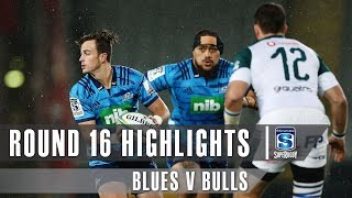 ROUND 16 HIGHLIGHTS: Blues v Bulls - 2019