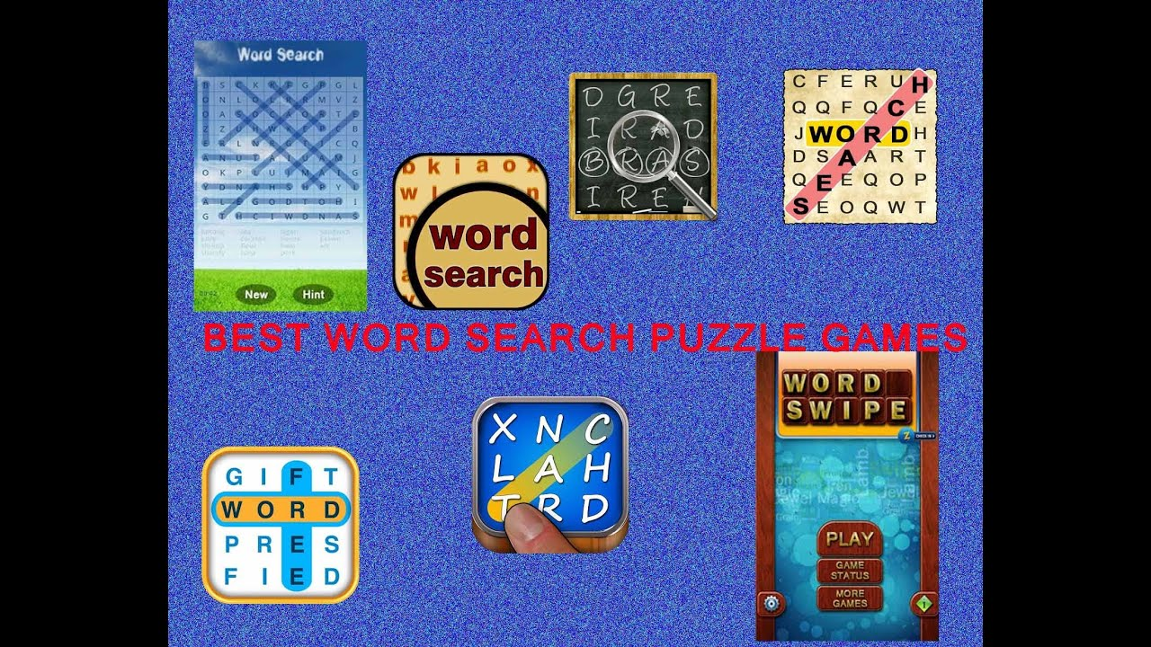 Best Word Search Puzzle Games For Android